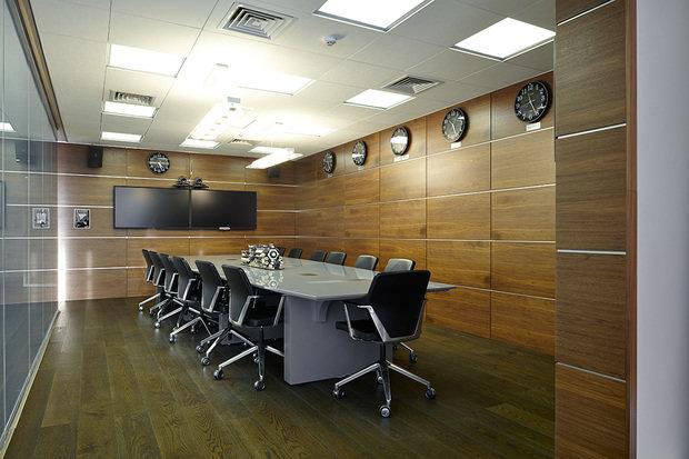 Фото из портфолио Офис компании ТМХ-сервис – фотографии дизайна интерьеров на INMYROOM