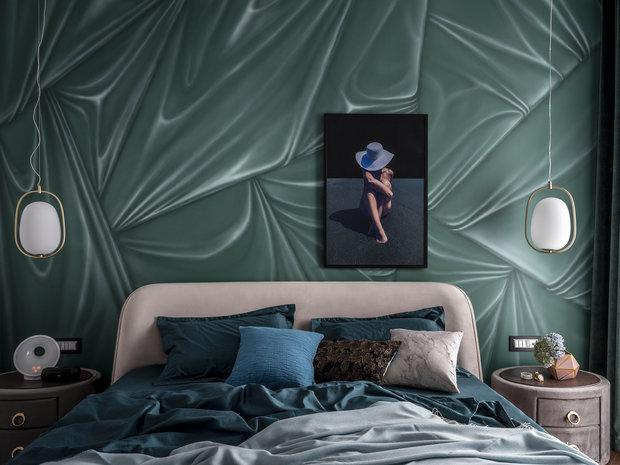Фотография: Спальня в стиле Современный, Квартира, Проект недели, Москва, 4 и больше, Более 90 метров, Anddesign, Александра Дашкевич – фото на INMYROOM