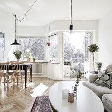 Фото из портфолио Классический скандинавский – фотографии дизайна интерьеров на InMyRoom.ru