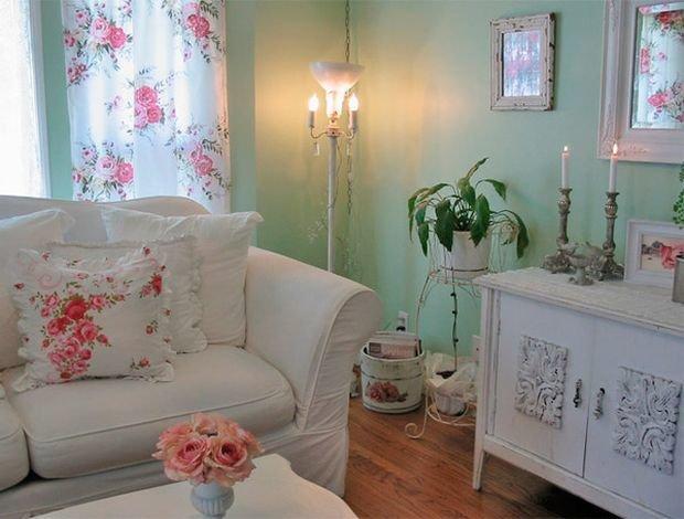 Фотография: Гостиная в стиле Прованс и Кантри, Декор интерьера, Квартира, Дом, Декор, Шебби-шик – фото на InMyRoom.ru