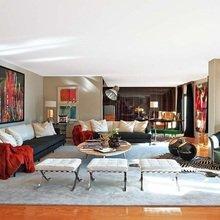 Фотография: Гостиная в стиле Эклектика, Декор интерьера, Мебель и свет, Декор дома, Стол, Лампа, Лиссабон, Торшер – фото на InMyRoom.ru