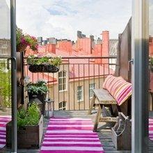 Фотография: Балкон, Терраса в стиле Кантри, Интерьер комнат, Дом и дача – фото на InMyRoom.ru