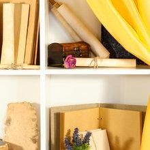 Фотография: Декор в стиле Кантри, Современный, Декор интерьера, Малогабаритная квартира, Квартира, Цвет в интерьере, Стиль жизни, Советы – фото на InMyRoom.ru