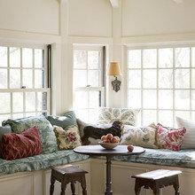 Фотография: Кухня и столовая в стиле , Декор интерьера, Советы, Подоконник – фото на InMyRoom.ru