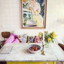 Фото из портфолио Артистический беспорядок в квартире настоящего художника – фотографии дизайна интерьеров на InMyRoom.ru