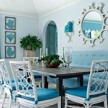 Фотография: Кухня и столовая в стиле Кантри, Декор интерьера, Квартира, Дом, Декор, Бирюзовый – фото на InMyRoom.ru