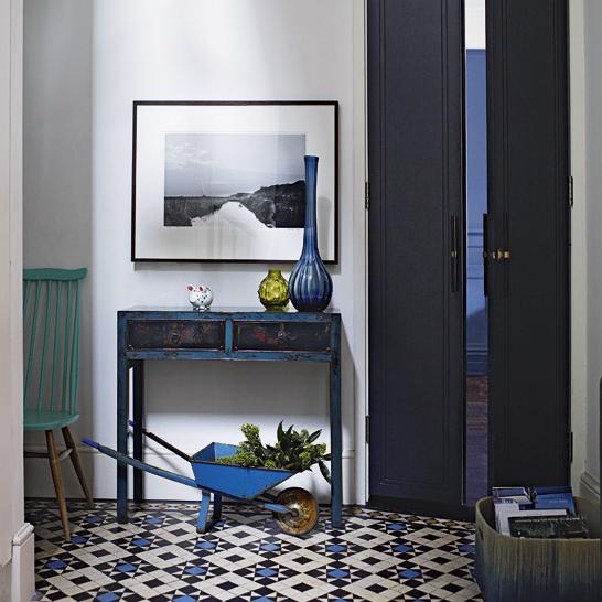 Фотография: Прихожая в стиле Прованс и Кантри, Декор интерьера, Декор дома, Плитка – фото на InMyRoom.ru