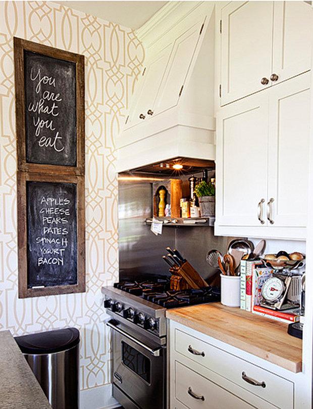 Фотография: Кухня и столовая в стиле Скандинавский, Декор интерьера, Интерьер комнат – фото на InMyRoom.ru