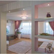 Фотография: Гостиная в стиле Современный, Квартира, Дома и квартиры, Роспись – фото на InMyRoom.ru