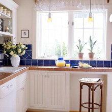 Фотография: Кухня и столовая в стиле Скандинавский, Декор интерьера, Советы, Подоконник – фото на InMyRoom.ru