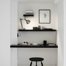 Фотография: Офис в стиле Скандинавский, Современный, Кабинет, Интерьер комнат – фото на InMyRoom.ru