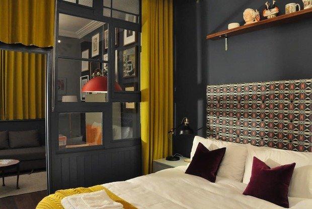 Фотография: Спальня в стиле Скандинавский, Современный, Декор интерьера, Малогабаритная квартира, Квартира, Студия, 1 комната, до 40 метров, 40-60 метров – фото на INMYROOM