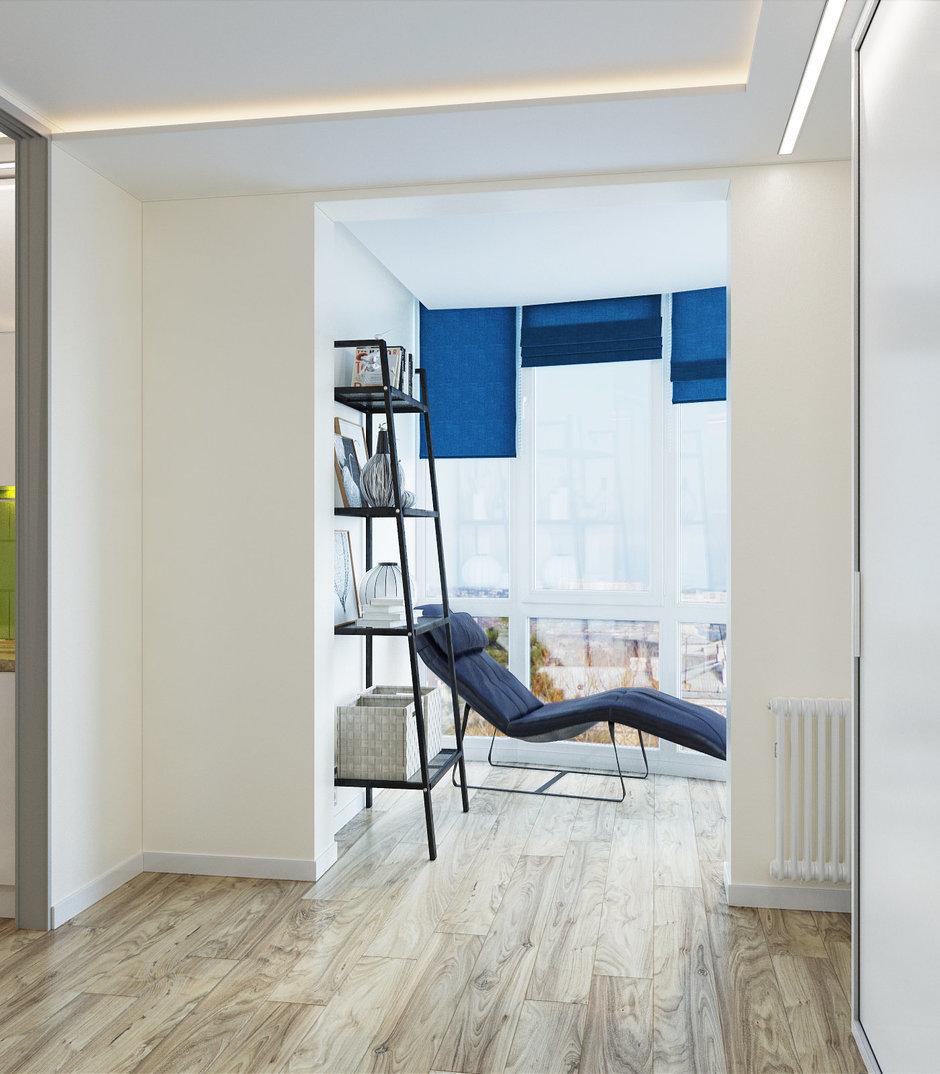 Фотография:  в стиле , Современный, Малогабаритная квартира, Квартира, Студия, Проект недели, Hansgrohe, Никита Зуб, как зонировать студию, Bosch, студия в современном стиле – фото на InMyRoom.ru