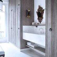 Фотография: Ванная в стиле Современный, Квартира, Дома и квартиры, Международная Школа Дизайна – фото на InMyRoom.ru