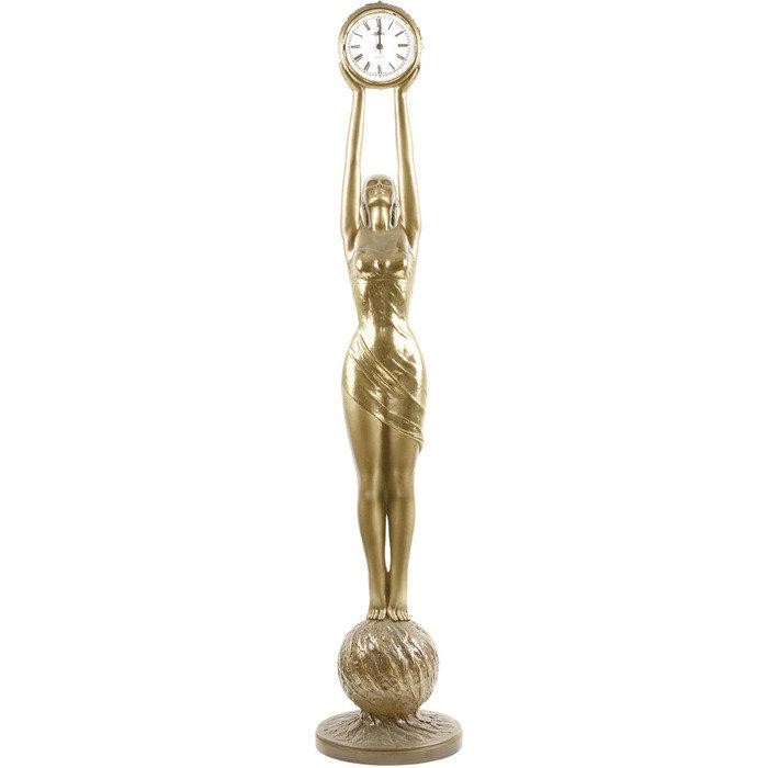 Часы напольные Девушка с Часами