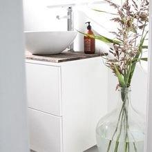 Фотография: Ванная в стиле Скандинавский, Стиль жизни, Советы – фото на InMyRoom.ru