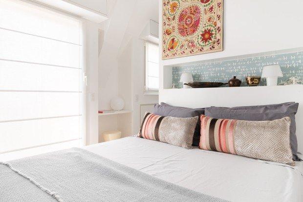 Фотография: Спальня в стиле Эклектика, Современный, Декор интерьера, Малогабаритная квартира, Квартира, Студия, 1 комната, до 40 метров, 40-60 метров – фото на INMYROOM