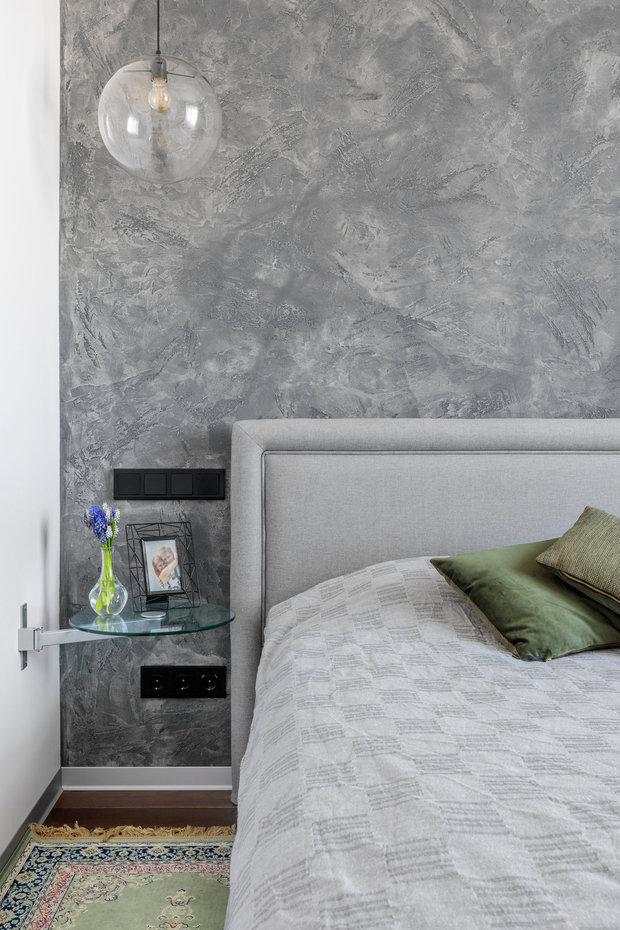Фотография: Спальня в стиле Современный, Квартира, Проект недели, Москва, 4 и больше, 60-90 метров, Спецпроект – фото на INMYROOM