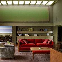 Фотография: Гостиная в стиле Современный, Декор интерьера, DIY, Цвет в интерьере – фото на InMyRoom.ru