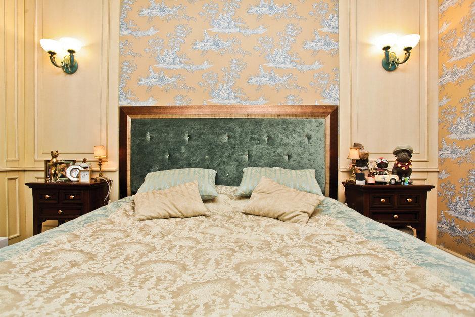 Фотография: Спальня в стиле , Классический, Квартира, Дома и квартиры, Проект недели – фото на InMyRoom.ru
