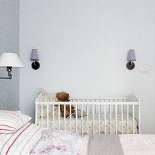 Фотография: Спальня в стиле Кантри, Квартира, Цвет в интерьере, Дома и квартиры, Белый – фото на InMyRoom.ru
