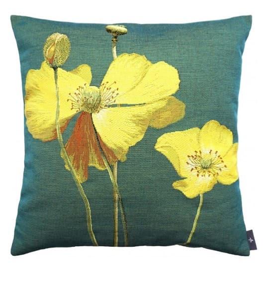 Купить Декоративная подушка Two Poppies, inmyroom, Франция