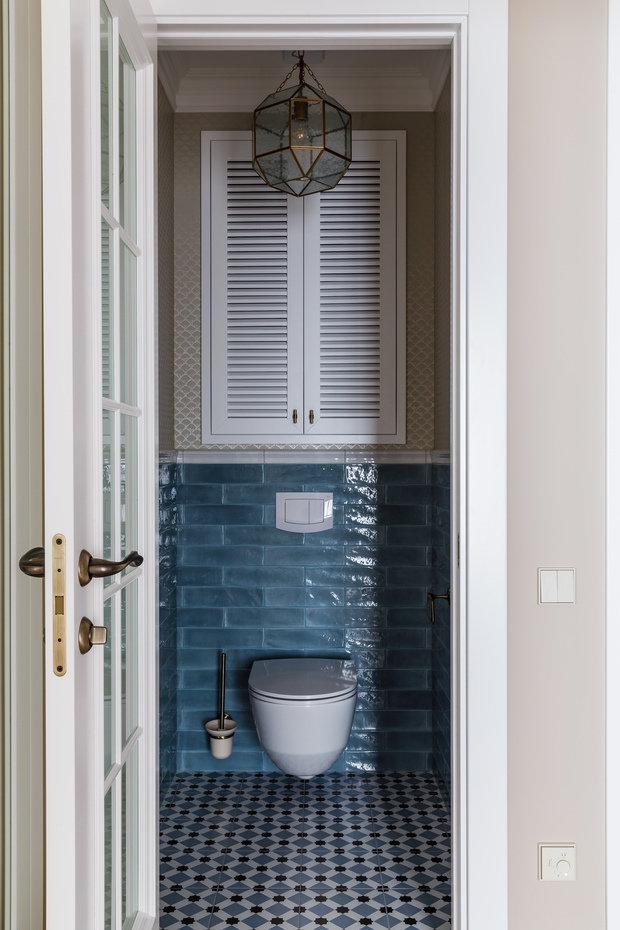 Фотография: Ванная в стиле Классический, Квартира, Проект недели, Краснодар, 2 комнаты, 60-90 метров, Алиса Свистунова – фото на INMYROOM