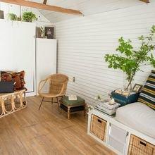 Фото из портфолио Твоорческий эксперимент в бабушкином гараже – фотографии дизайна интерьеров на InMyRoom.ru