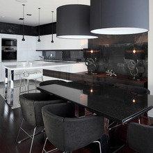 Фотография: Кухня и столовая в стиле Хай-тек, Квартира, Дома и квартиры – фото на InMyRoom.ru