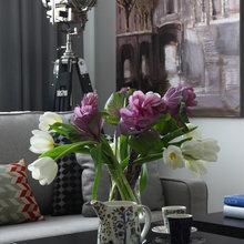 Фотография: Декор в стиле Скандинавский, Эклектика, Классический, Квартира, Проект недели, Москва, Марина Поклонцева, Монолитный дом, 4 и больше, Более 90 метров – фото на InMyRoom.ru