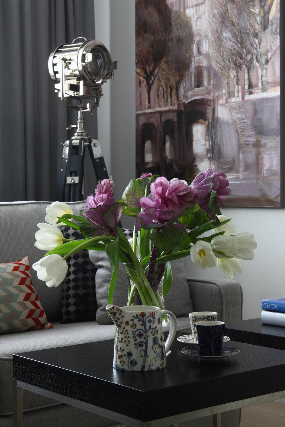 Фотография:  в стиле , Классический, Эклектика, Квартира, Проект недели, Москва, Марина Поклонцева, Монолитный дом, 4 и больше, Более 90 метров – фото на InMyRoom.ru
