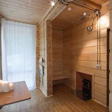 Фото из портфолио Баня за стеклом – фотографии дизайна интерьеров на INMYROOM