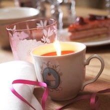 Фотография: Декор в стиле Современный, Свечи, Сервировка стола – фото на InMyRoom.ru