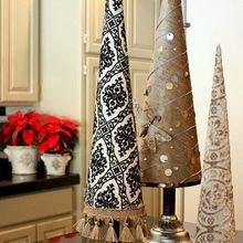 Фото из портфолио Новогодние идеи создания креативных ёлок для Нового года – фотографии дизайна интерьеров на INMYROOM