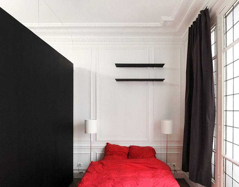 Фотография: Спальня в стиле Восточный, Квартира, Франция, Дома и квартиры – фото на InMyRoom.ru