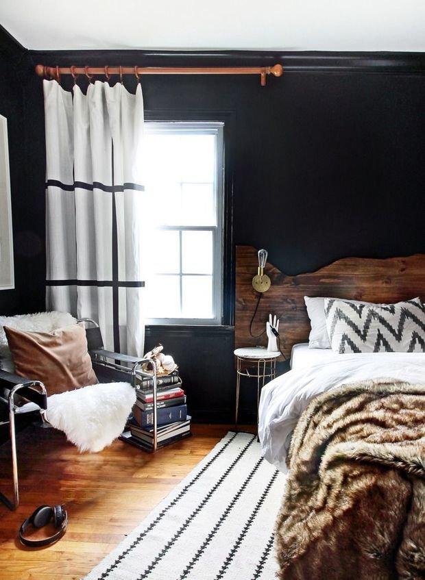 Фотография: Спальня в стиле Прованс и Кантри, Скандинавский, Квартира, Советы, Ремонт на практике – фото на InMyRoom.ru
