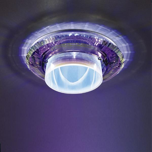 Встраиваемый светильник Swarovski Temper с хрусталем цвета мультиколор