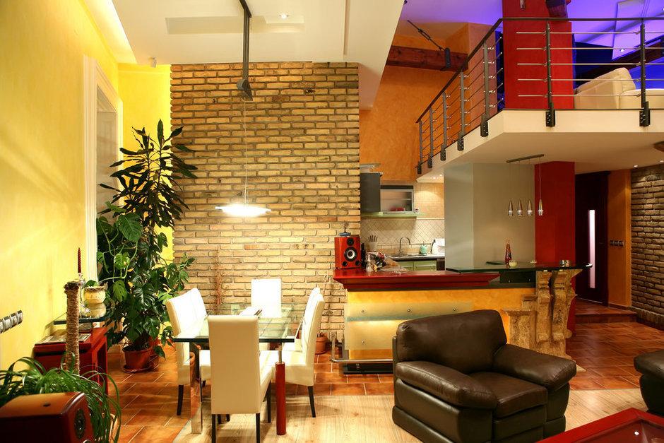 Фотография: Кухня и столовая в стиле Лофт, Современный, Декор интерьера, Квартира, Дом, Декор дома, Стена – фото на InMyRoom.ru