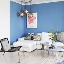 Фото из портфолио Акцент на Небесно-голубой  – фотографии дизайна интерьеров на INMYROOM