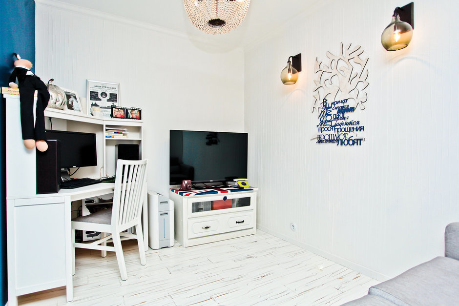 Фотография: Офис в стиле Современный, Декор интерьера, Квартира, Дом, Дома и квартиры, Ремонт – фото на InMyRoom.ru