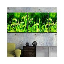 Модульная картина от дизайнера: Сочная зелень