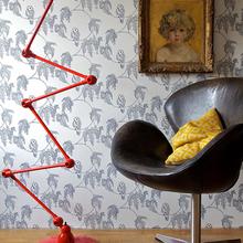 Фотография: Мебель и свет в стиле Кантри, Эклектика, Декор интерьера, Декор дома, Обои, Стены – фото на InMyRoom.ru
