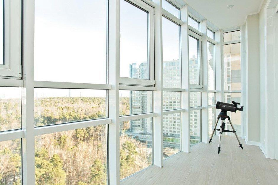Фотография: Балкон, Терраса в стиле Современный, Скандинавский, Квартира, Дома и квартиры, Проект недели – фото на InMyRoom.ru