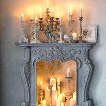 Фотография: Декор в стиле Кантри, Современный, Декор интерьера, Декор дома, Камин – фото на InMyRoom.ru