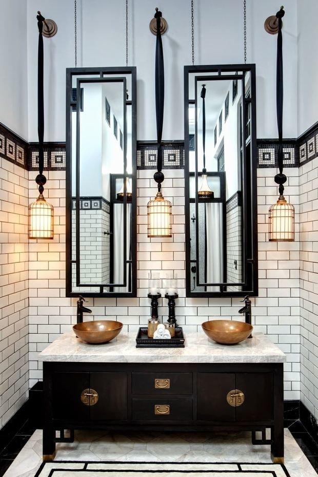 Фотография: Ванная в стиле Восточный, Квартира, Советы, Ремонт на практике, Хрущевка – фото на InMyRoom.ru