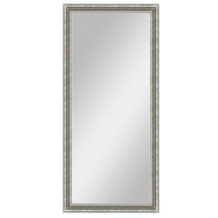 """Зеркало напольное """"Верона"""" в серебряной раме"""