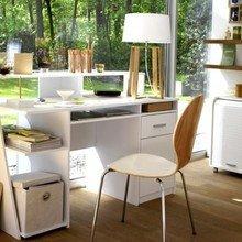 Фотография: Кабинет в стиле Современный, Декор интерьера, Мебель и свет – фото на InMyRoom.ru