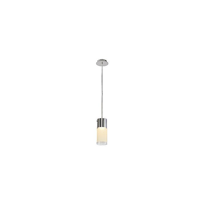Светильник подвесной SLV Commo хром/ стекло частично матовое