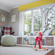 Фотография: Детская в стиле Скандинавский, Декор интерьера, Декор дома, Шторы, Окна – фото на InMyRoom.ru