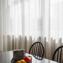 Фотография: Кухня и столовая в стиле Кантри, Эклектика, Квартира, Проект недели, Москва, декоративный камин в гостиной, Ольга Абрамова, стеллажи, монолитный дом – фото на InMyRoom.ru